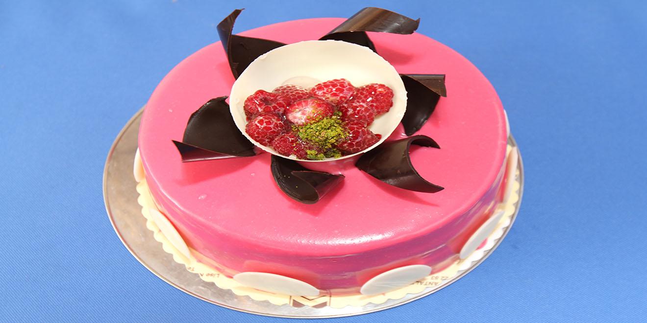 frambuazlı pasta