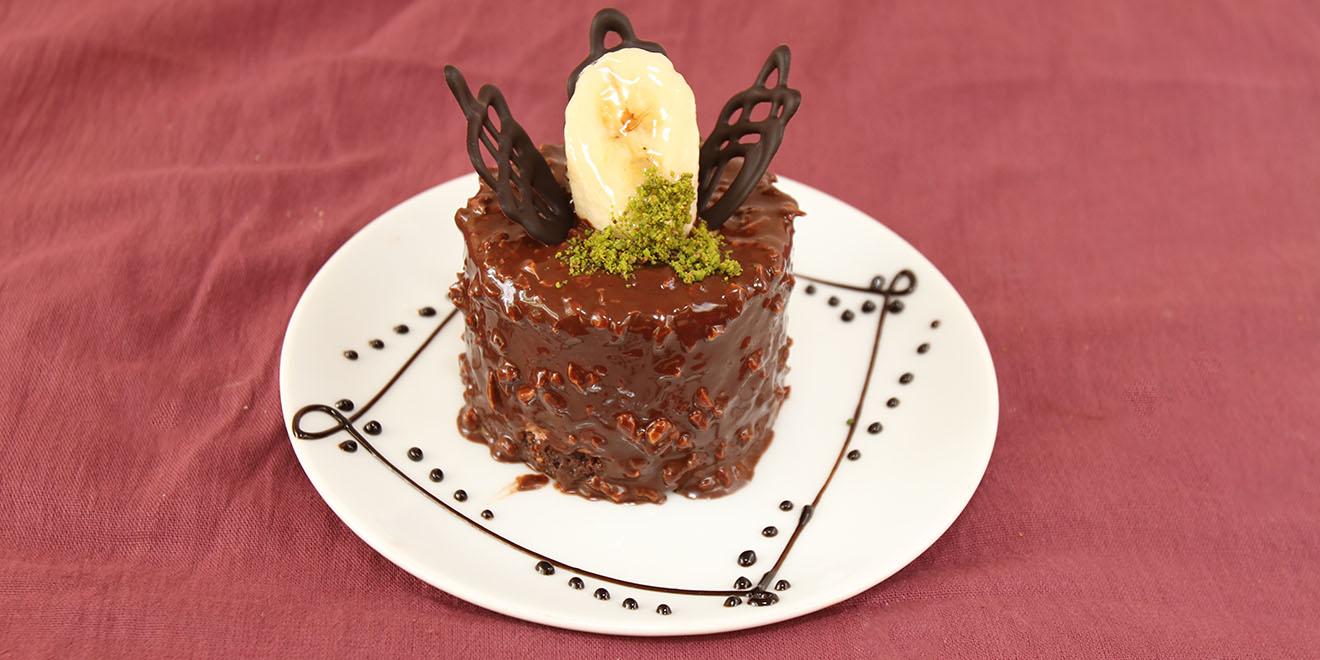 muzlu çikolatalı star pasta